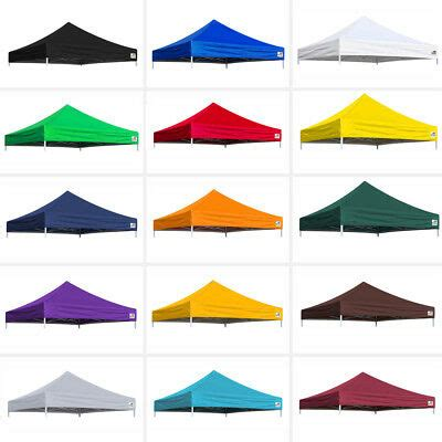 replacement ez pop  canopy patio gazebo sunshade polyester top cover ebay