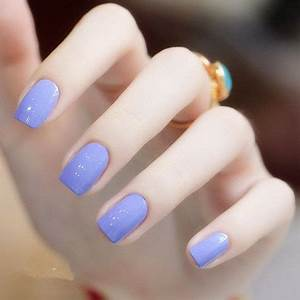 Gorgeous Light Purple Nail Polish