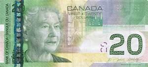 Canada Dollar polymer banknotes