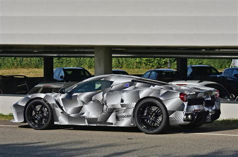 The objective was to increase aerodynamic efficiency, deliver ideal weight distribution. Mystery Ferrari LaFerrari prototype spotted with new ...