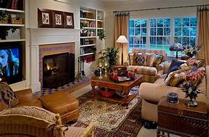 Eclectic living room ideas with country furniture for Country living room furniture ideas