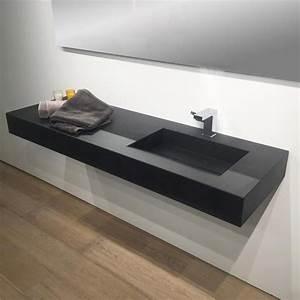 vasque sous plan salle de bain maison design bahbecom With salle de bain design avec plan vasque pierre