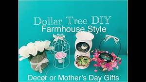 DOLLAR TREE DIY FARMHOUSE STYLE MOTHERS DAY GIFTS & HOME