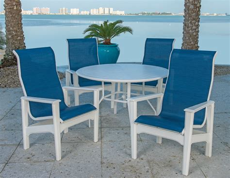 marine grade polymer commercial outdoor furniture at low