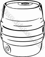 Keg Beer Clipart Party Things Objects Clipground sketch template