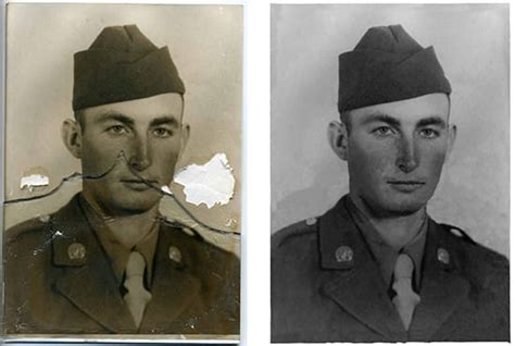 Restore and repair old, damaged photos by Mpodell
