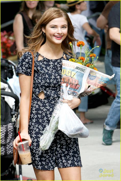 Stefanie Scott Picks Fresh Flowers For Her Home Photo