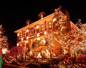 bus   york city dyker heights christmas lights