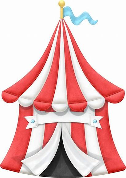 Circus Carnival Tent Clip Clipart Theme Tents