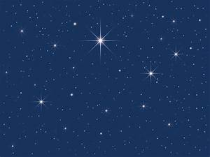 Star In The Sky Clipart - ClipartXtras