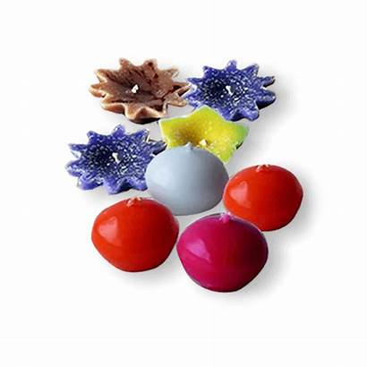 Ball Flower Scented Candles Siddhalepa
