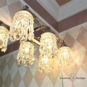 Expensive Bathroom Lighting Diy Crystal Vanity Light Shades Cuckoo4design