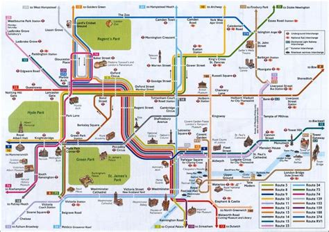Carte Monument Pdf by Carte De Londres Plan Touristique Monuments De Londres