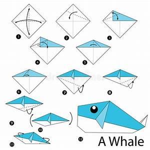 Faire Des Origami : tutoriel origami baleine ~ Nature-et-papiers.com Idées de Décoration