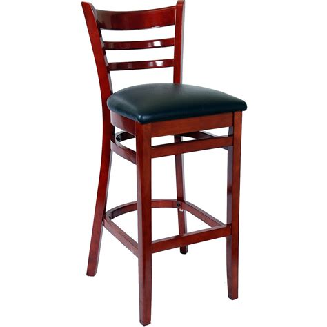 Best Price Bar Stools by Ladder Back Wood Bar Stool