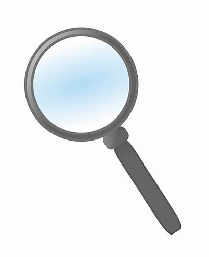 Magnifying Glass Clipart Loupe I2clipart Clip Domain