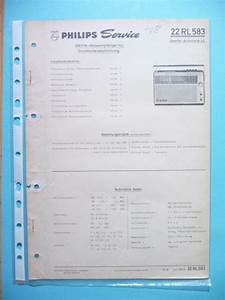 Service Manual Instructions For Philips 22 Rl 583