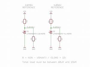precision lm4040 voltage reference breakout 2048v and 4 With board switch point driver extension and more circuit component symbols