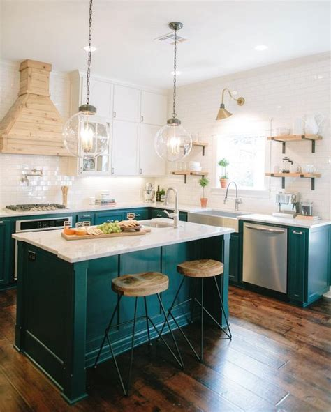 turquoise kitchen island colorful kitchen island ideas the turquoise home