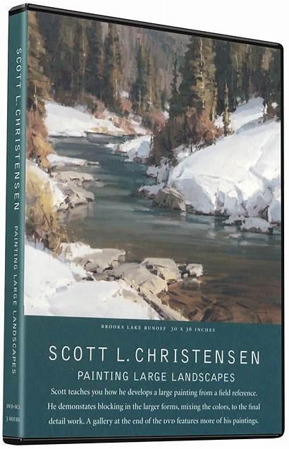 Christensen Scott Painting Landscapes Landscape Oil Liliedahl
