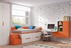 chambre moderne ado avec lit gigogne glicerio so nuit With chambre moderne pour ado