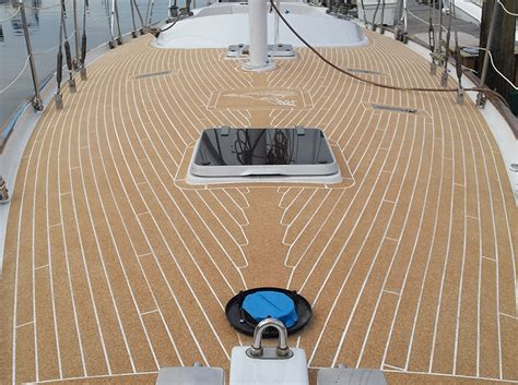 cork flooring for yachts aqua cork marine decking for boats pool decks high performance high quality composite cork