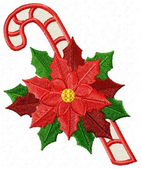 poinsettia design christmas motifs poinsettia machine embroidery designs