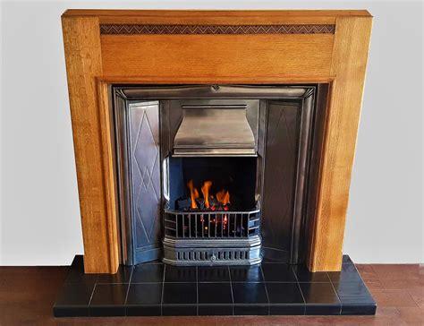 buy   retro  period cast iron insert fireplace