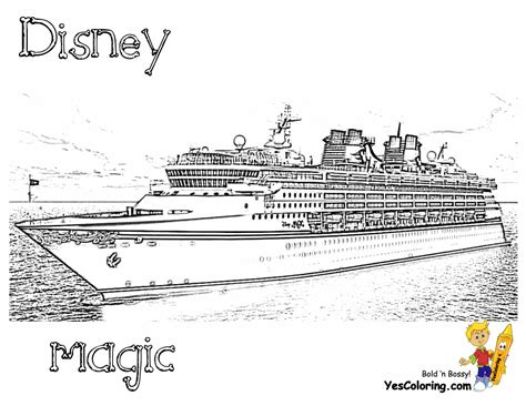 Spectacular Cruise Ship Coloring Cruises Free Cruise