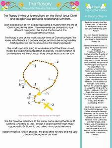 17 Best Images About Teaching Kids The Rosary On Pinterest