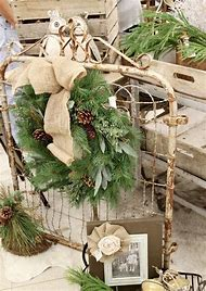 rustic outdoor christmas decorations - Rustic Outdoor Christmas Decorations