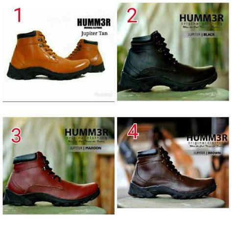 jual fashion sepatu pria sepatu boots pria sepatu hummer boots jupiter original di lapak sepatu
