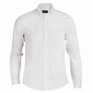 Chemise Blanche classique de la mode masculine