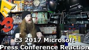 Xbox One X - E3 2017 Microsoft Press Conference Reaction ...