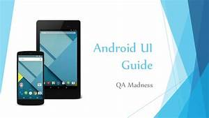 Android Ui Guide