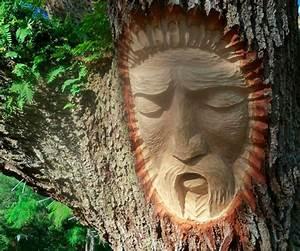 Tree spirit carvings via keith jennings inspiration now for Tree spirit carvings by keith jennings