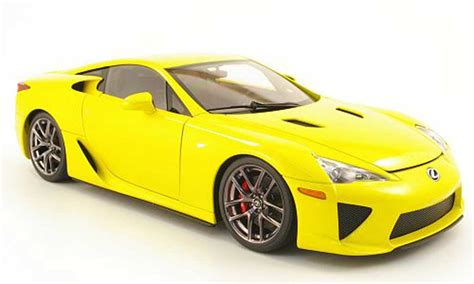 lexus yellow lexus lfa yellow 2010 autoart diecast model car 1 18 buy