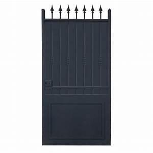 Vial Portillon Fer : portail fer coulissant portail fer battant portail sur ~ Premium-room.com Idées de Décoration