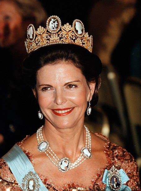 Portrait of Queen Silvia in 2020 | Royal crowns, Royal ...