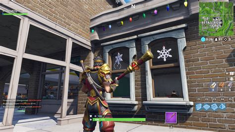 complete  destroy snowflake decorations
