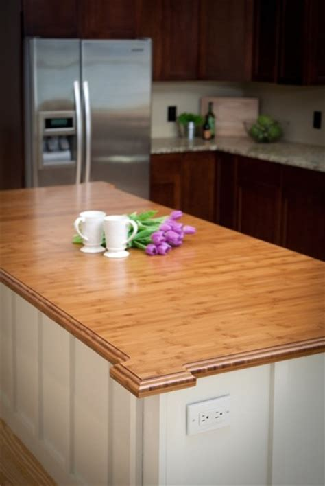 Wood Countertops With Sinks  It's Waterproof! Kitchen