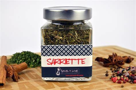 sarriette cuisine sarriette en vente sur epices and belgique