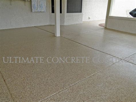 epoxy coating patios by ultimate concrete coatings