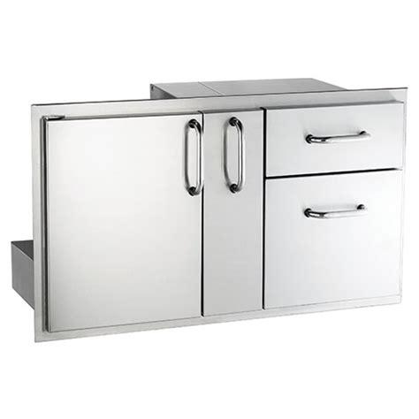 american door and drawer american outdoor grill premium single door drawer