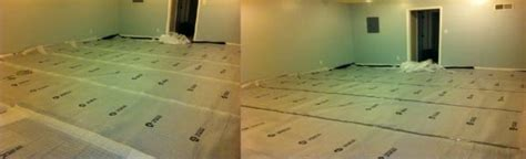 Installing Underlayment For Laminate Flooring On Concrete by Did I Install Underlay Correctly For Laminate Flooring On