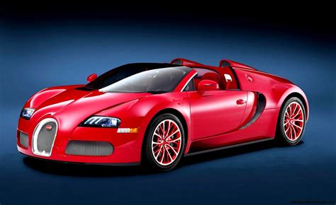 Red Bugatti Wallpaper