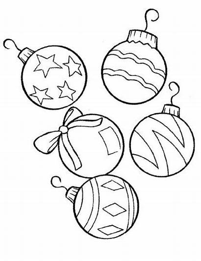 Coloring Christmas Pages Ornament