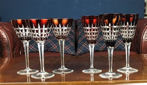 bicchieri cristallo boemia bicchieri da della boemia cristallo catawiki