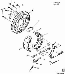Any One Got An Assembly Diagram For Drum Brakes On A 1989