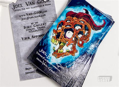 Custom Sticker Business Cards. As